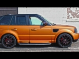 Range Rover Sport Wrap - Avery Matte Metallic Blaze Orange