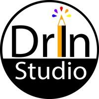 Логотип Графика. Уроки Рисования/ DrIn Studio