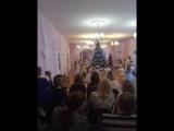 Утренник 2016- Дед Мороз , Баба-Яга и группа Ромашки ! )