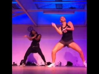 Kaea Pearce and Zena MBengue