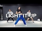 1Million dance studio Light It Up - Major Lazer (ft. Nyla &amp Fuse ODG) Beginners Class