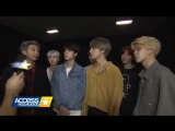 [INTERVIEW] 171118 BTS Discusses Their Intensely Loyal Fans & Celeb Crushes! @ Access Hollywood