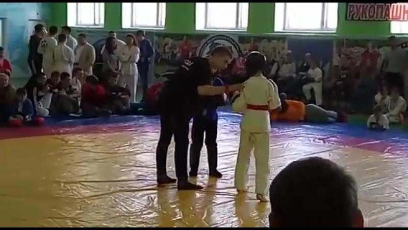 Бой за 🏅место Аминов Денис котегория до 28 кг 8-9лет