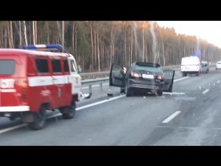 В ДТП пострадало несколько машин (Barnaul22)
