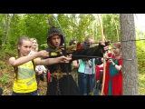 Гости Золотаревского городища примерили доспехи и приняли участие в турнире лу ...