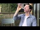 Benedict Cumberbatch Celebrates Good News By Chugging Water