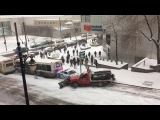 Just a Regular Morning in Canada! Montreal First Snow of the year!