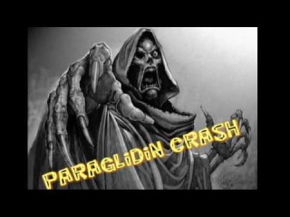 Paragliding crash 1/2