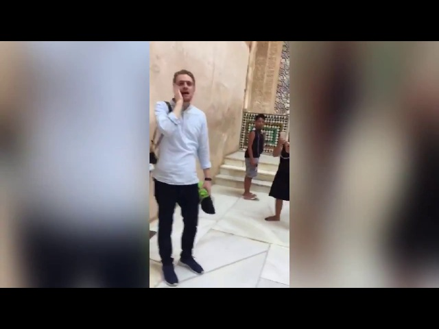 First Islamic adhan sounds at Spain's Alhambra Palace in 500 years