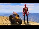 Машинки мультики. Спайдермен и Монстер Трак машины все серии подряд. Мультики для детей.