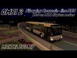 OMSI 2 • Fikcyjny Szczecin (line 553) • MAN Citybus series (NL263 ZF).
