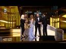 Altın kelebek ödül töreni Elcin Sangu ve Barış Arduç ödül alırken