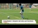 Fussballtraining Schnelligkeit und Torschuss Koordination Kondition