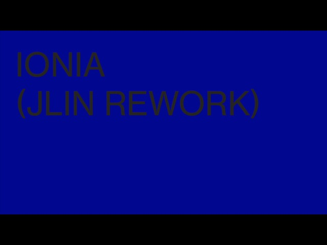 Ben Frost - Ionia (Jlin Rework)
