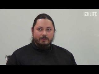 Иеромонах Фотий рассказывает о подарках поклонников (пресс-конференция в медиа ...