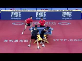 2016 China Open Highlights: Zhang Jike/Ma Long vs Xu Xin/Fan Zhendong (Final)