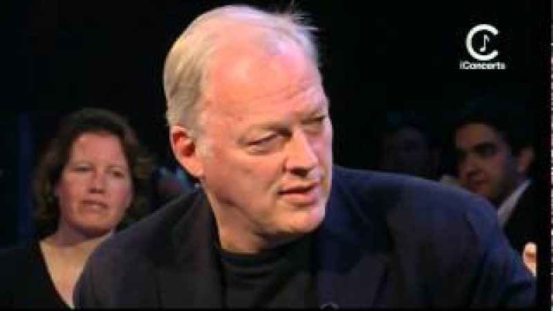 David Gilmour - Interview with Jools Holland (2001) -HD-
