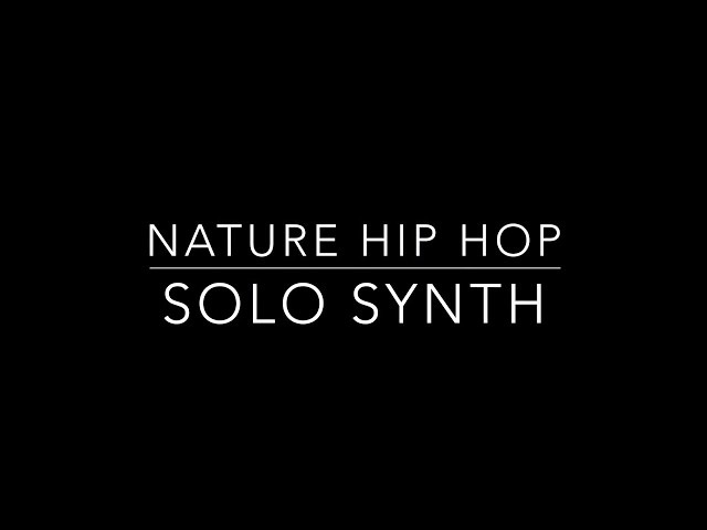 Nature Hip Hop (cover) - Solo Synth - Dark Screen - Noisy Version - Church's Keyboard