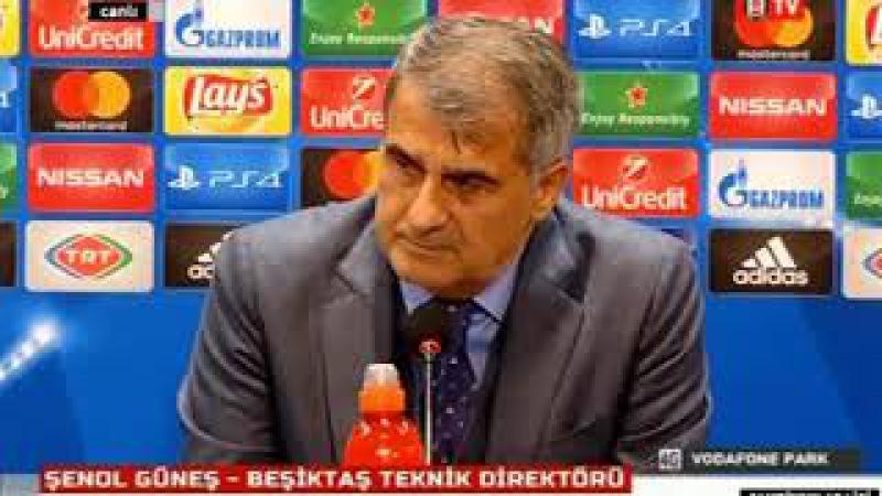 Şenol Güneş | Beşiktaş 1-1 Porto | Basın Toplantısı | Maç Sonu 21 Kasım 2017
