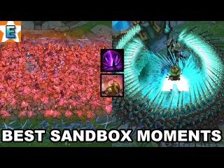 Best Practice Tool Moments ( Sandbox Mode ) - Unlimited Traps , Azir Army and more Abilities