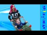 БЕЗУМНЫЙ ШОПИНГ в супермаркете Bad Kids Doing Shopping wo Baby Doll Bad Baby For children