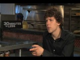 Jesse Eisenberg talks 30 MINUTES OR LESS with Chase Whale