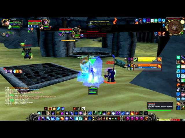 WoW Arena TBC 2.4.3 2vs2 MageShadow vs. RogueDudu (lvl 70)
