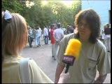 Разные Люди. 15-летие в Харькове 29.05.2005. Интервью перед концертом.