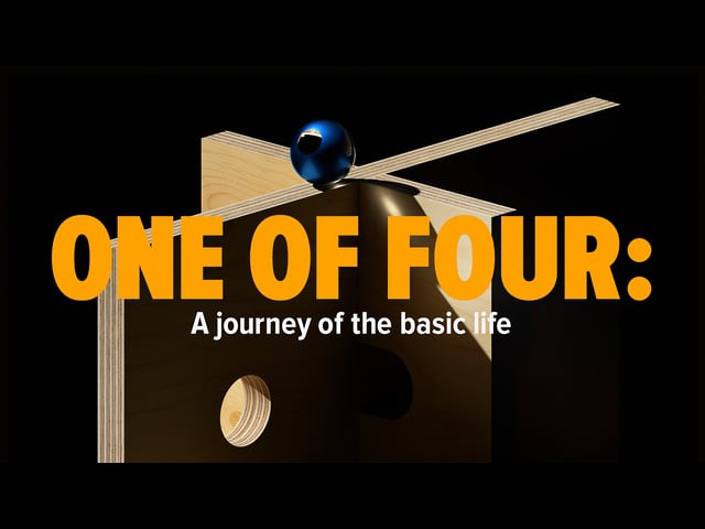 ONE OF FOUR A journey of the basic life