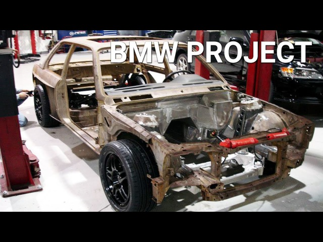 BMW E30 M3 5.7L V10 Project Build
