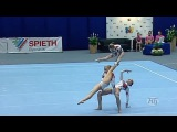 Acrobatic Gymnastics is easy