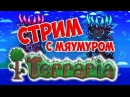 TERRARIA СТРИМ С МЯУМУРОМ HardCore Stream 4 ЖЕСТИМ С КОСМИЧЕСКОЙ БРОНЕЙ