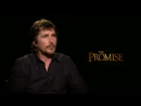 Christian Bale on Fake News Donald Trump. The Promise Interview