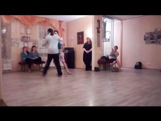 Rony Joel y Ksenia Seluk - resume tango nuevo 20.11.17
