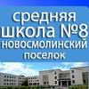 Средняя Школа № 8. Новосмолинский поселок