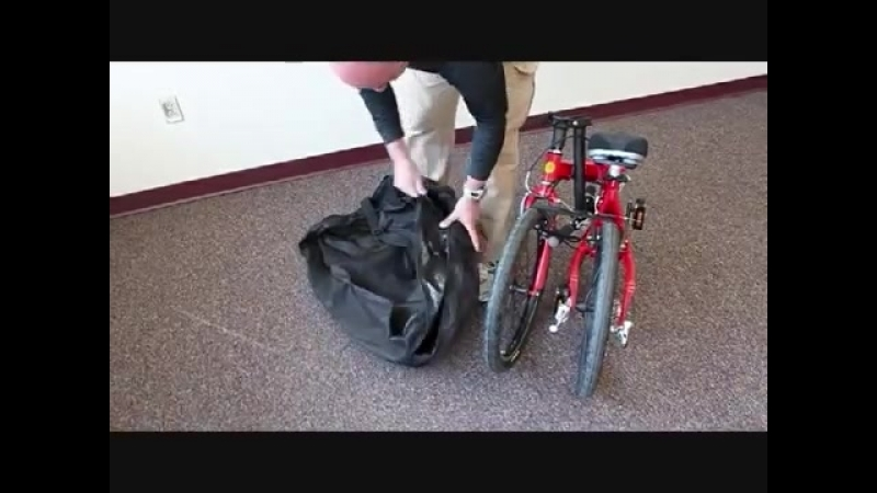Melon Folding Bike Carry Bag