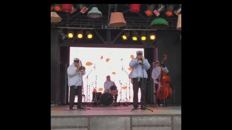 Valeriy Bukreev Jazz Band - 09.05.2017 - Live In Park Taganski, (Instagram Video),Moscow,Russia
