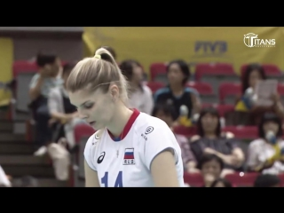 Top 10 Crazy Actions by Irina Fetisova (Ирина Фетисова) - Russian Volleyball