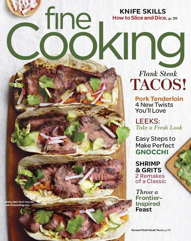 Fine Cooking April May 2017 Pdf Download Free Reading