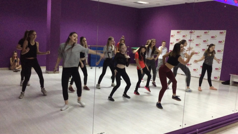 Female dancehall routine| begpro group