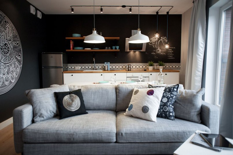 Chmielna Apartment – небольшая квартира в Гданьске, Польша, оформленная компанией Raca Architekci в 2014 году.