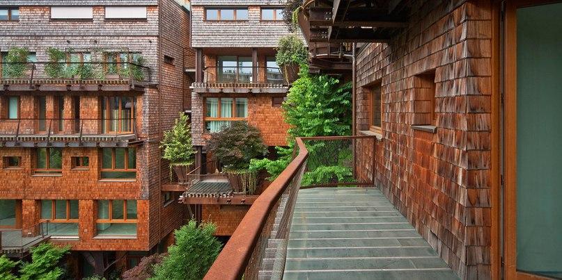 Дом в городе Турине на севере Италии был спроектирован архитектором Luciano Pia.