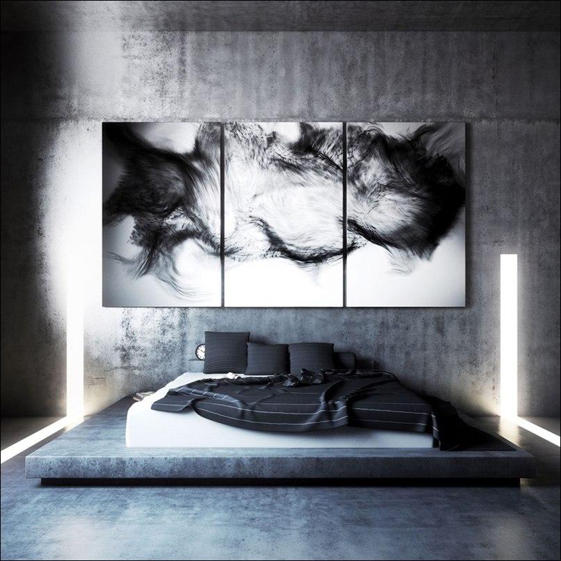 Эта визуализация квартиры для писателя является последней работой 3D-художника Angelo Fernandes.