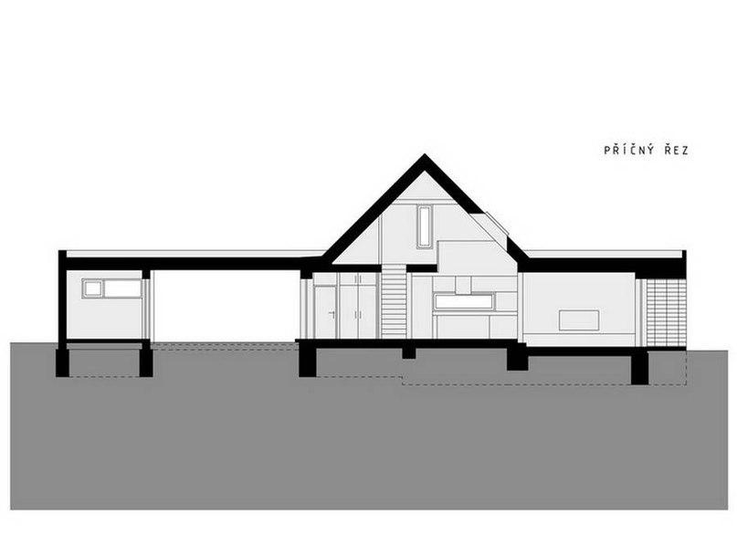 Пассивный дом (Pasivni dum) в Чехии от atelier MARDOU.