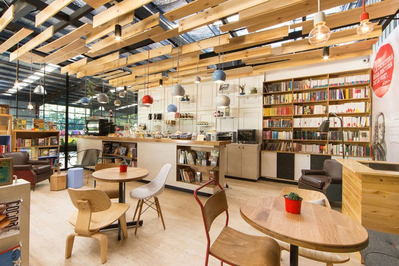 Modern Bookstore in Colombia Encourages Exploration, Relaxation (Part 1)