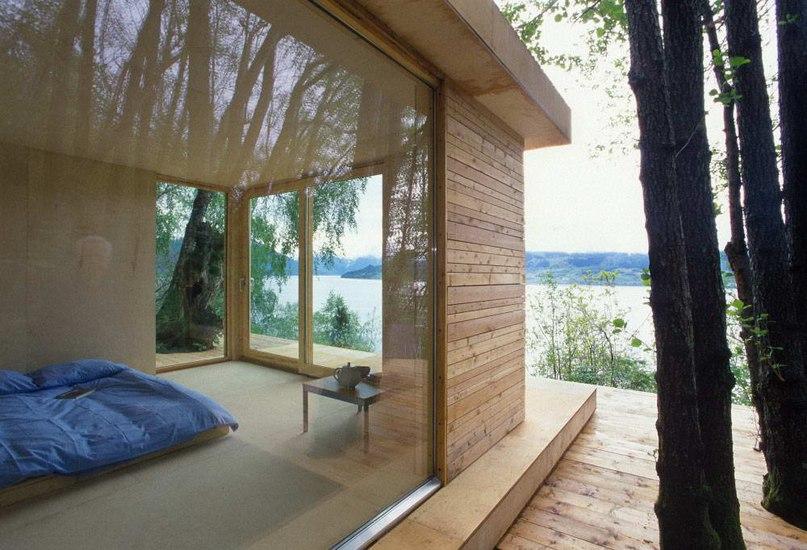 Домик в Хардангер (Hardanger Retreat) в Норвегии от Todd Saunders и Tommie Wilhelmsen.