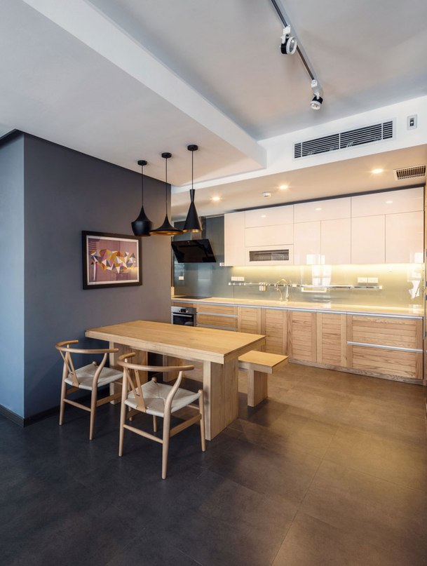 Flexible Home for an Active Small Family: ML Apartment in Vietnam