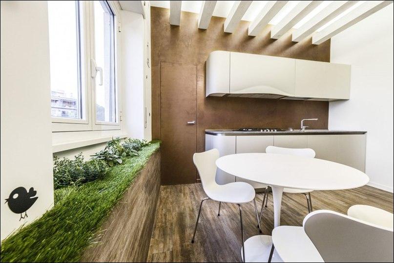 Этот современный дом с выразительным дизайном интерьера был разработан итальянской студией Brain Factory.