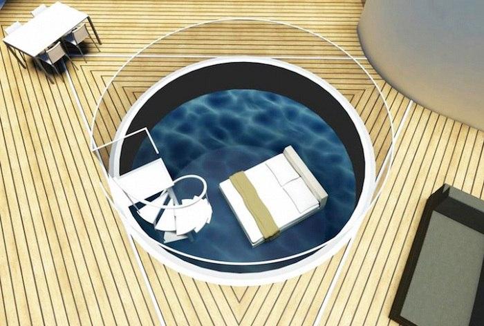Специалисты филиала международной архитектурной компании BMT Group BMT Asia Pacific представили занимательный концепт плавающих вилл класса «люкс» под названием SeaScape.