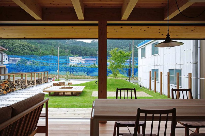 Дом Ишимаки (Ishimaki House) в Японии от K.